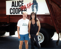 dave cash, alice cooper on trash tour mesa, arizona